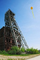Ruhr 2010, European Cultural Capital 2010, hard coal mining in the Ruhr area, major project SchachtZeichen from 22nd May to 30th May 2010 after an ide...