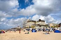 Beach in Westerland, Sylt, Nordfriesland, Schleswig_Holstein, Germany