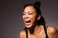 Afrikanisches M‰dchen lacht