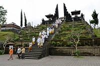Pura Besakih Temple, Bali, Indonesien, Asia