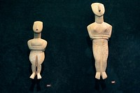 Benaki Museum of Athens, Cycladic sculpture