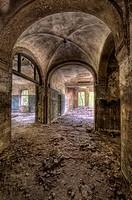 Gewölbe in der Ruine