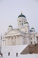 Helsinki Cathedral Lutheran Church, Helsinki, Finland, Scandinavia, Europe