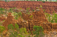 Sandstone rock formation called New York, southern Ethiopia, Ethiopia, Africa