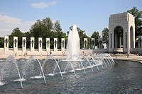 World War II Memorial, Washington D.C., United States of America, North America