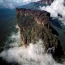 Aerial image of Weiassipu, Eastern chain of tepuis, Estado Bolivar, Venezuela, South America