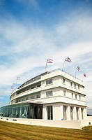 The Art Deco Midland Hotel on Morecambe seafront