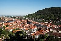 Old Town, Heidelberg, Baden-Württemberg, Germany