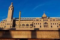 Lluis Companys Olympic Stadium, Montjuic, Barcelona. Catalonia, Spain