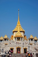 Thailand, Bangkok, Wat Traimit
