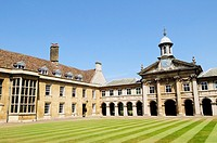 Emmanuel College, Cambridge, England, UK