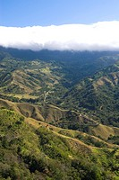 Valley at the south of Monteverde