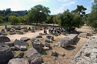 Europe, Greece, Peloponnese, Ancient Olympia