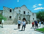 The Alamo in San Antonio. Texas, USA