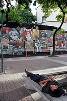 murals, person, political, venezuela, art, people