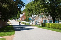Yorktown, Virginia - View of Main Street in Historic Yorktown, Virginia