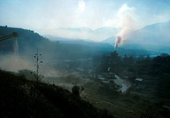 country, nepal, valley, khatmandu, polution, 3694