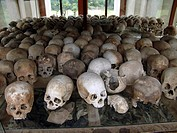 skulls, pattern, cambodia, person, nature, people