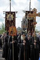 clergy, people, pilgrims, russia, person, party