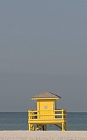usa, shack, florida, scenic, beach, lifeguards