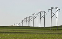 canada, powerpoles, western, saskatchewan, scenic, line