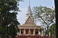 Phnom Penh (Cambodia): the Wat Phnom