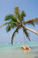 Wellness at Beach, Indian Ocean, Maldives