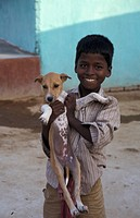 person, holding, boy, india, people