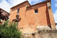 St Michael parish church, Alcaraz village Albacete province Castile La Mancha Spain