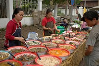 sale, people, readytoeat, laos, person, food