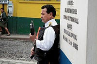 person, guarding, male, guatemala, people