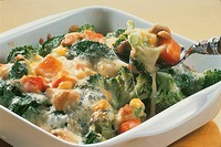Cheese Gratin Of Broccoli