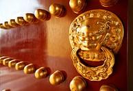 design detail door ming dynasty temple heaven