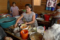 woman food women guatemala san pedro la laguna