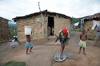brazil very poor quilombo or settlement slaves a