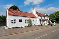 The Wolds Inn, Huggate, Wolds Way, East Riding of Yorkshire, England, UK