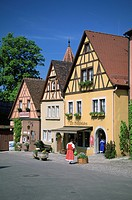 Germany, Rothenburgh, romantic route