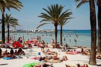 Beach El Arenal , Palma de Mallorca