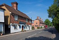 England Kent Benenden The Street and ´King William IV´ Public House and houses