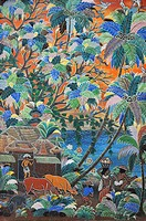 Ubud (Bali, Indonesia): painting at the Neka Art Museum
