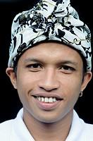 young man in Kuta, Bali, Indonesia