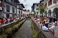 Festividad de San Fermin, Lesaka - Lesaca, Pirineo Navarro, Navarra.