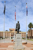 Lt  Frank Luke Jr  Statue State Capitol Buildings Phoenix Arizona