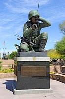 Navajo Code Talkers Statue Phoenix Arizona