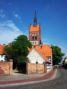 Usedom, historic city centre