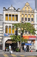 Kuala Lumpur (Malaysia): colonial buildings by the Central Market