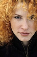 Portrait of a young Woman with strawberry-blonde Curls - Hair (thumbnail)