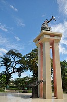 Dili (East Timor): monument in the city's center