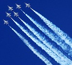 The United States Air Force Thunderbirds perform during the Aerospace and Arizona Days air show March 20, 2010, at Davis Monthan Air Force Base  This ...