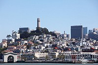 Overview of the City of San Francisco, California, USA